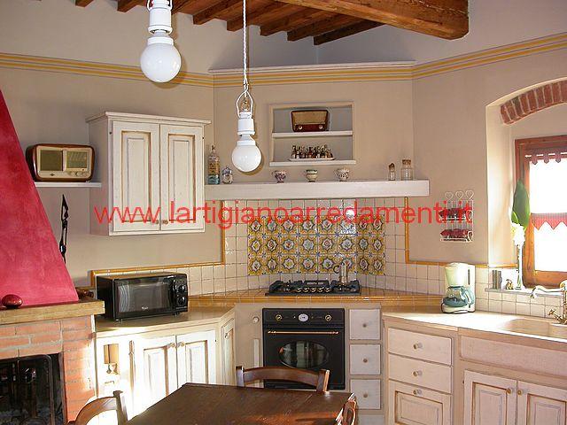 Cucine in muratura foto realizzazioni pag 4 for L artigiano arredamenti monsummano
